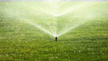 Irrigation sprinkler system installer
