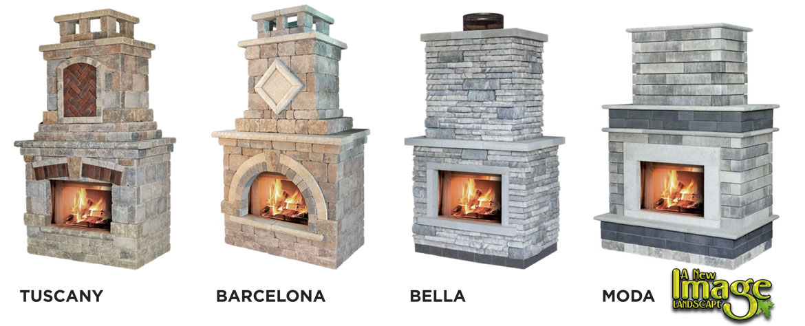 Outdoor fireplace styles
